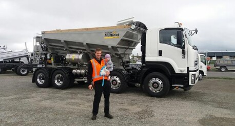 Smart Material Placement for commercial and civil projects Slinger Truck Christchurch